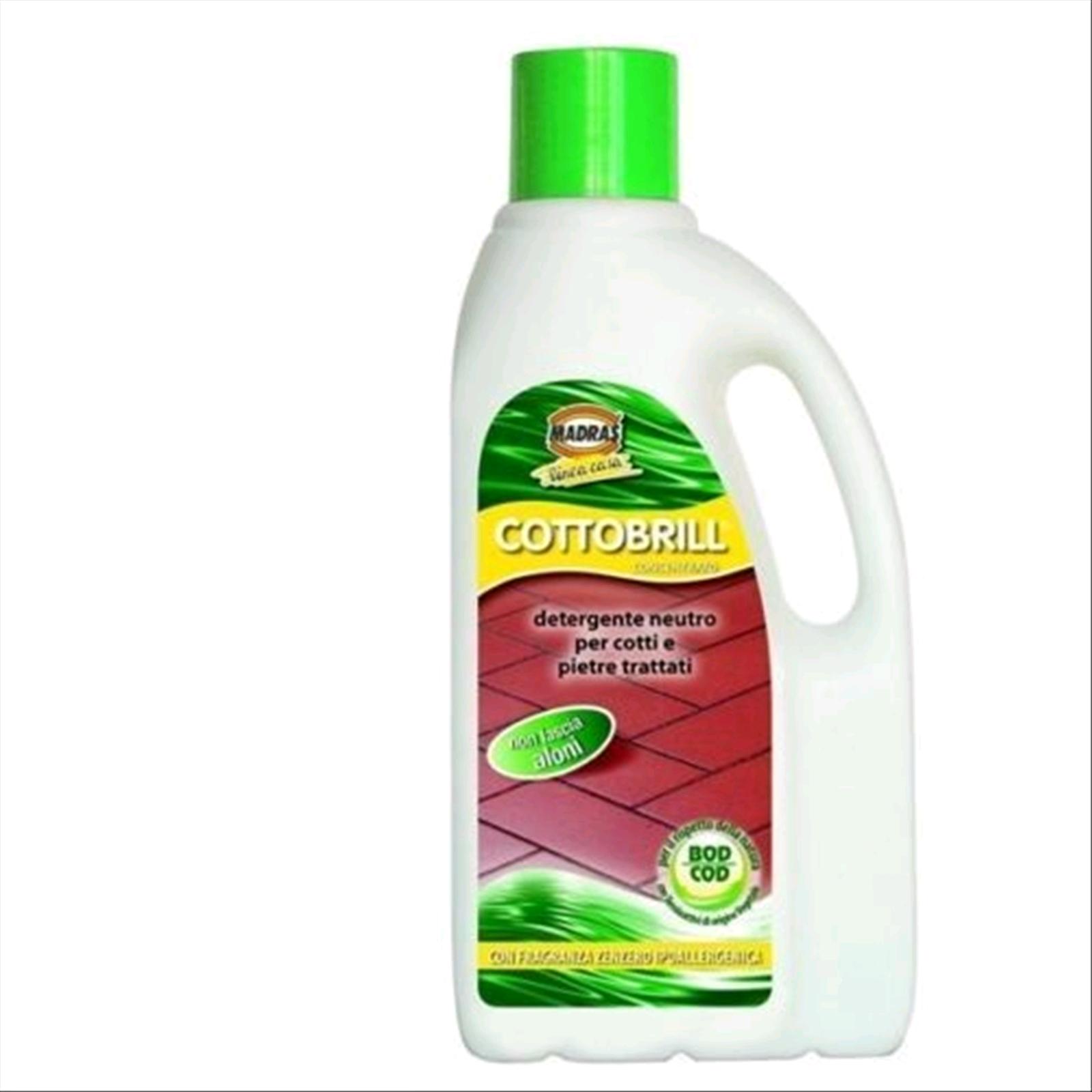 Detergente Per Cotto Esterno dettagli su cottobrill lt 1 detergente neutro cotto e pietre