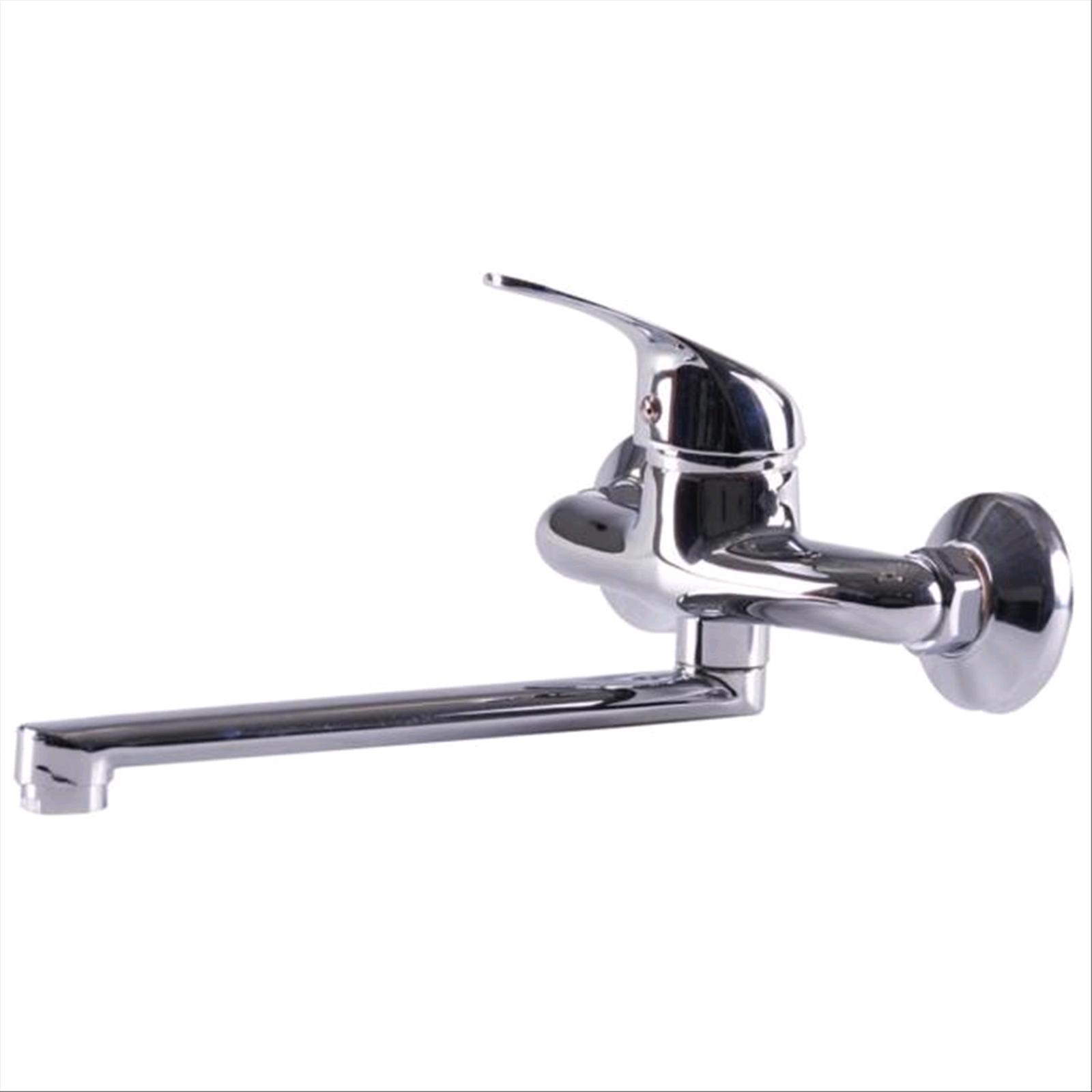 Miscelatore A Muro Per Lavabo dettagli su rubinetto miscelatore lavello attacco a muro brixo